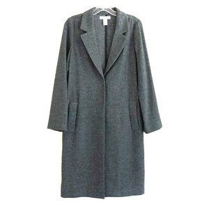 H&M Dark Gray Straight Cut Coat